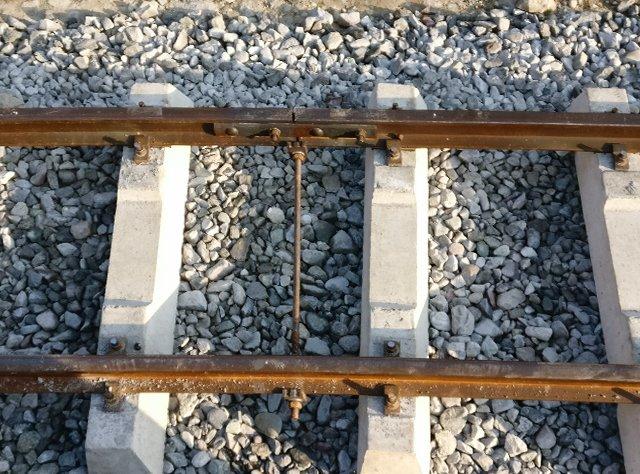 The track gauge