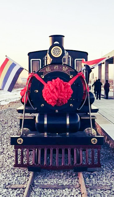 Línea especial de Henan Lankao Presidente Mao\-tren turístico Retro