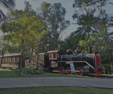 Liaoning Fulu Vintage tren de turismo