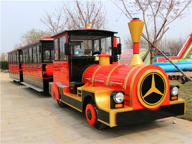 42 Seater Electric Trackless Sightseeing Train DSW-E42