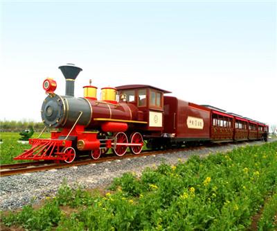 Sightseeing Train of Shandong Lanling National Agricultural Park