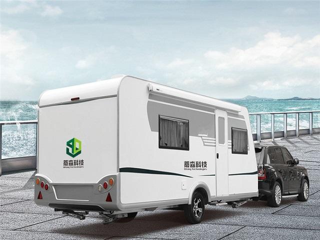 America Vogue Caravan Trailer Model 9020 For Camping