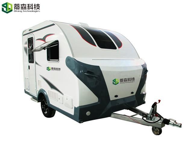 Australia Vogue Camper Trailer Droplet Model 9011 For Camping