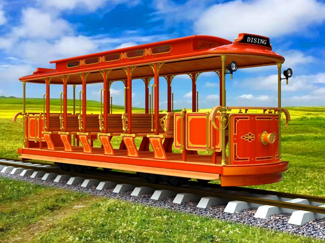 <b>Track Electric Sightseeing Train tram DST-G3-E24</b>