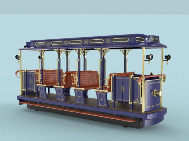 8 Seats City Tour Electric Sightseeing Trolley DST-G3-E8