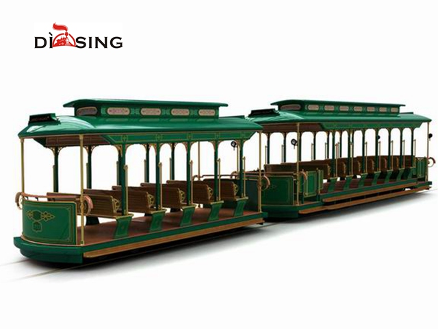 36 Seats Track Electric Sightseeing Train DST-G7-E36