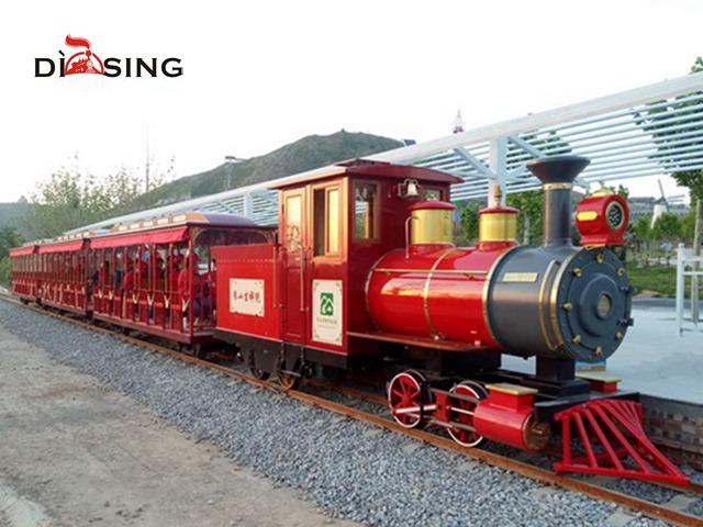 Track diesel Sightseeing Train DST-G6-D63