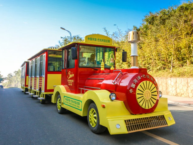 <b>Trackless Diesel Sightseeing Train DSW-D58</b>