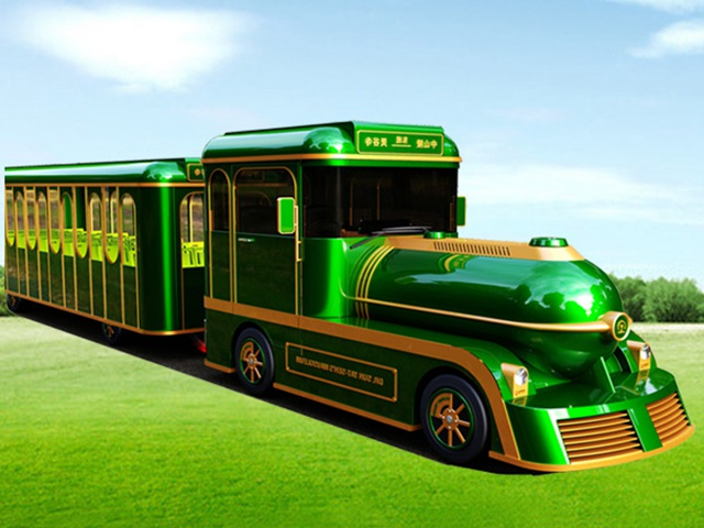 58 Seats Trackless Electric Sightseeing Train DSW-58G