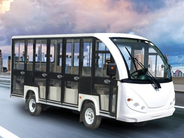 Fully enclosed electric sightseeing vehicle DSY-EM14