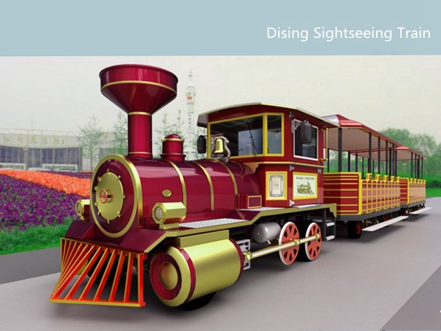 <b>Electric sightseeing train DSW-E42C</b>