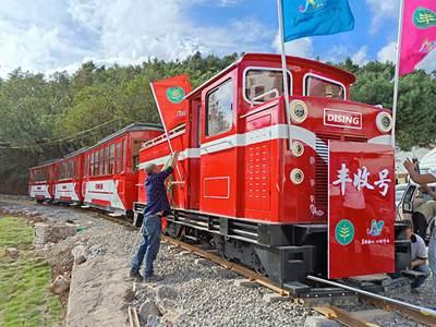 Dising Sightseeing Train Power Theme Park