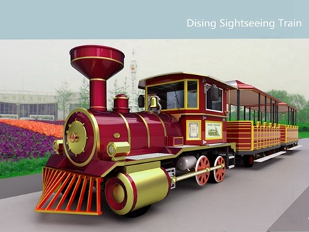 Electric sightseeing train DSW-