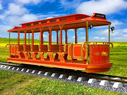 Track Electric Sightseeing Trai