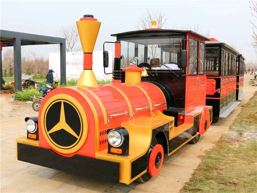 42 Seater Electric Trackless Sightseeing Train