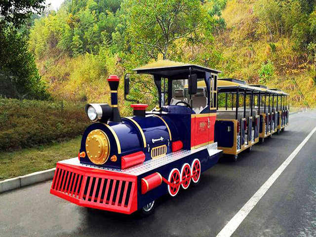 Trackless Electric Sightseeing Train DSW-E27