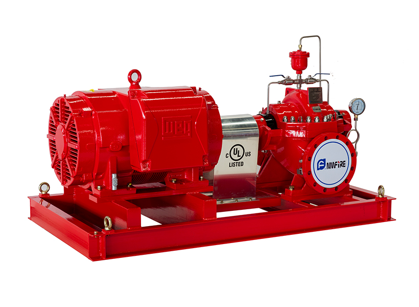 UL / FM Certified Horizontal Split Case Fire Fighting Pumps