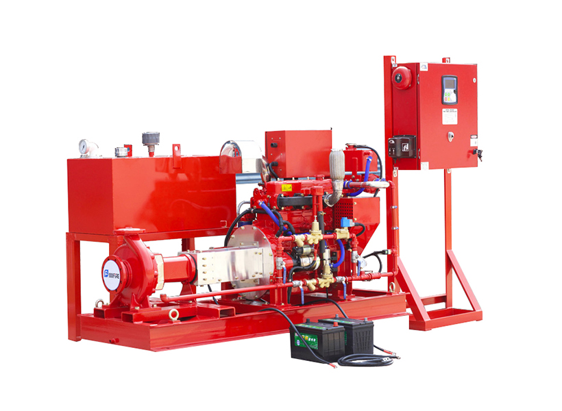 High Quality UL/FM Listed End Suction Fire Fighting Pump