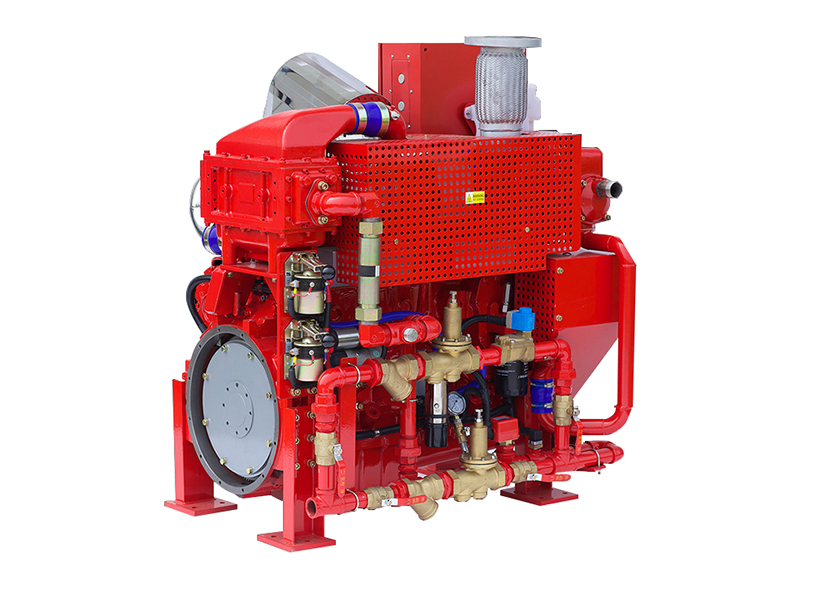 UL Listed diesel engine for fire pump driven