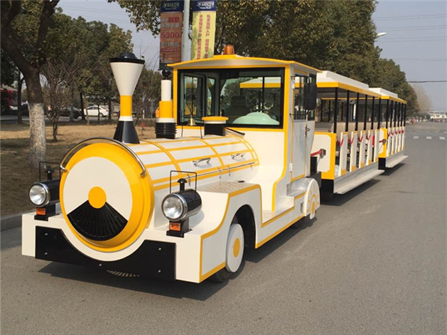 <b>Take Dising mini train to welcome the baptism of happiness</b>