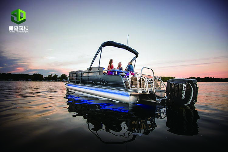 MP24 A 24ft Yacht Recreational Floating Aluminum Pontoon Boat