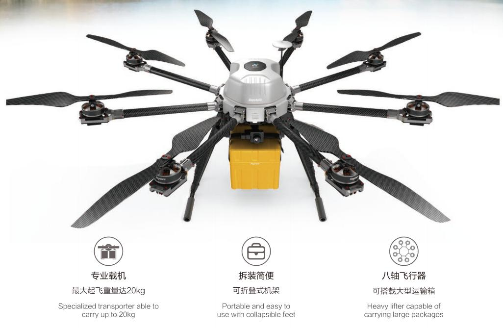 Power KM8 1200 Drone Camera Specialized Multi-function Aerial Operations