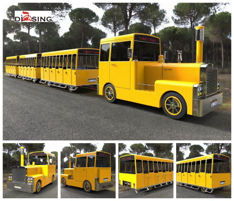 Paladin Style 86 Seats Trackless Electric Sightseeing Train