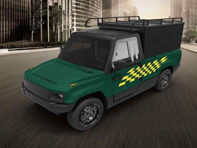 Environmentally Friendly Operation Electric Utility Van