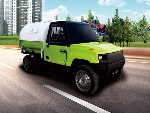 Comfortable and Convenient Electric Sanitation Truck