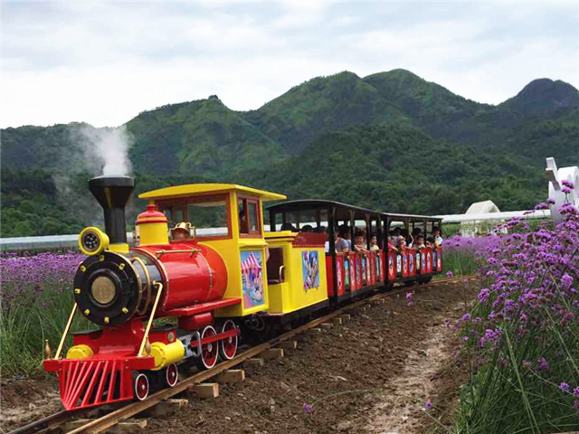 Take the sightseeing train to h