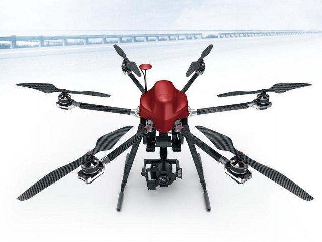 Take Dising Camera Drone travel over the world