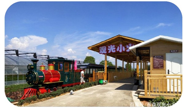 the design of the sightseeing train station