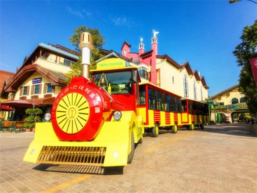 Village train, a good transport tool for your village or city tour